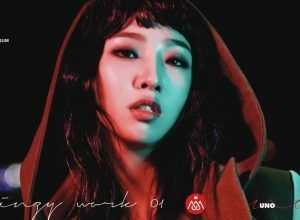 Minzy Mini álbum Work 01 Uno