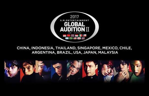 SM Entertainment sm global audition II