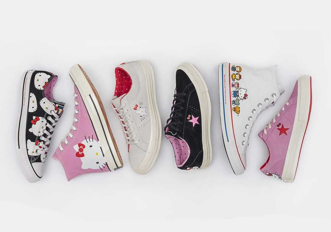 hello kitty tenis converse