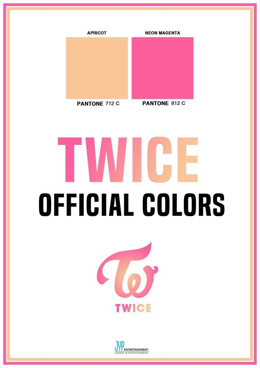Color oficial Twice